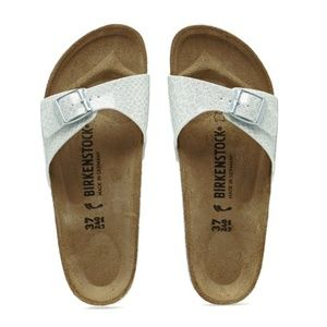 NEW Birkenstock Madrid Sandal Magic Snake White 36